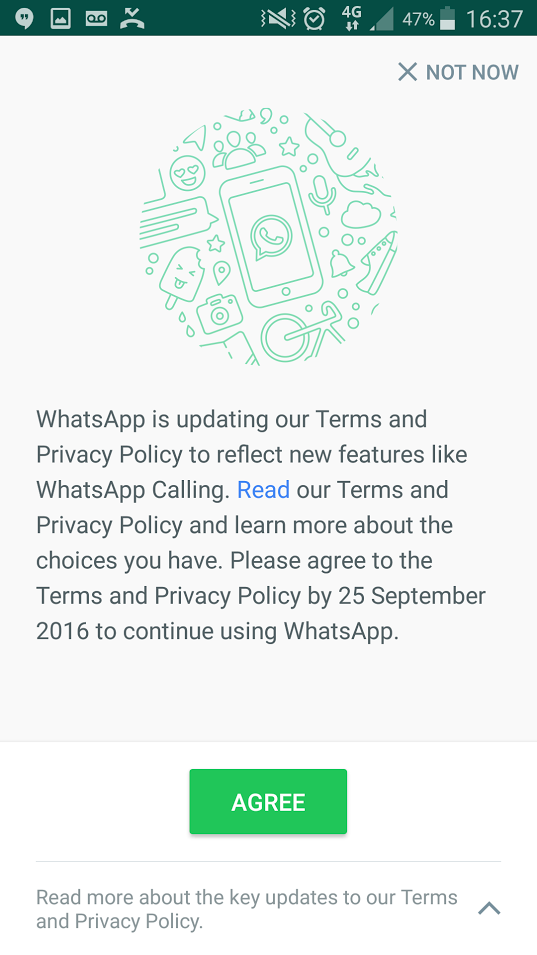 How To Stop Whatsapp Sharing Your Details With Facebook Js